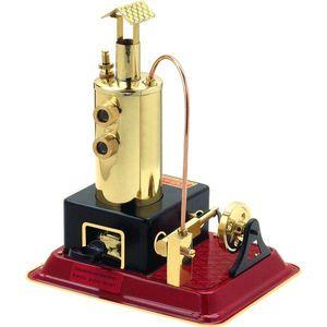 Wilesco D3 Steam Engine, Dampfmaschinenmodell, Montagesatz, Schwarz, Messing, Rot, Beide Geschlechter, Kinder & Erwachsene, Poliert