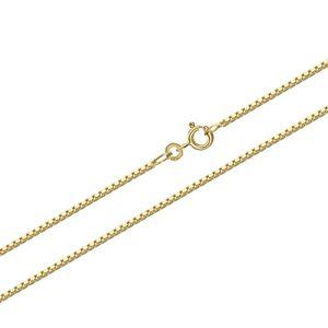 50cm Venezia 333 Gelbgold echt 8 Karat Venezianerkette Collier 0.7mm 1,50gr 9304