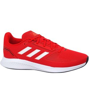 adidas Sportschuh Runfalcon 2.0 Größe 8.5, Farbe: VIVRED/FTWWHT/SOLRED