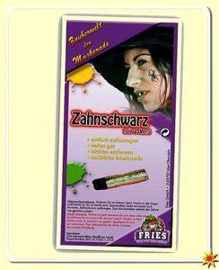 Zahnschwarz Stift, Zubehör Schminke für Hexen Kostüm