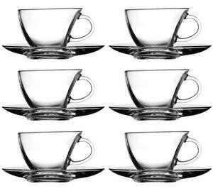 12tlg. Set Tassen mit Unterteller Penguen