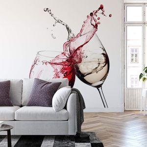A.S. Création Vlies Fototapete Küchentapete Wine Glasses DD119008 Designwalls