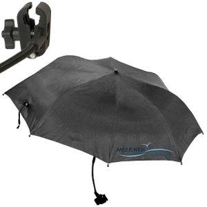 Sonnenschirm knickbar Ø 1m Kinderwagen Sonnenschutz Garten Schirm Strandschirm