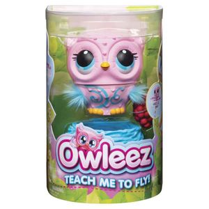 Spin Master Tierfigur Owleez Interaktive Eule, pink, 56931