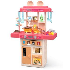 42x Spielküche 73cm Kinderküche Kinder Küche Spielzeug mit Zubehör Zubehörteile