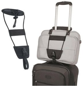 GKA Trolley Bag Bungee - Handgepäck Befestigung auf Trolley - Gepäckgurt für Koffer Taschenhalter