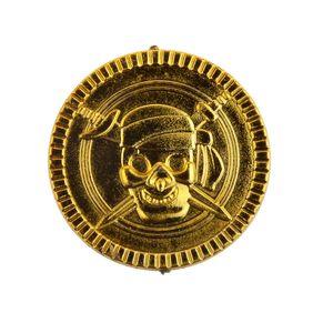 Piraten- - Gold-Münzen, 100 x