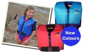 Konfidence Jacket Schwimmweste Jugendliche blau/gelb 8-14 Jahre 8 - 10 Jahre