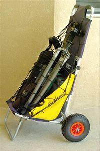Eckla Universal Gepäcknetz für Beach Rolly 65x65 cm