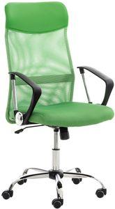 CLP Bürostuhl Washington höhenverstellbarer, drehbare und mit Leichtlaufrollen, Farbe:grün