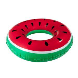 Aufblasbare XXL Melone Luftmatratze Schwimmreifen Wasserring Badeinsel Badespaß Schwimmring