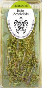 Badeschokolade Zitroneneukalyptus 100g, natürliches Cremebad / Erkältungsbad