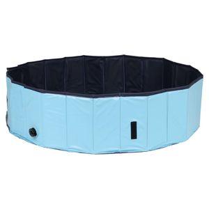 @Pet Hundepool 120 x 30 cm L Blau