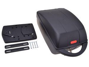 Filmer Premium 49650 On-Top Case Fahrradkoffer für Gepäckträger