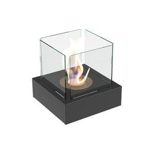 Bioethanol Biokamin Tango 3 Variante Standkamin mit Glasscheibe Kratki
