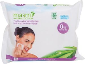 masmi Bio Make-Up Reinigungstücher 20 Stk.