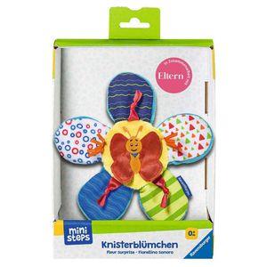 RAVENSBURGER ministeps Knister-Blümchen Rascheltuch Schmusetuch Baby Spielzeug