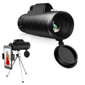 Monokular Starscope Teleskop 40X60 Hochleistungs-HD-Monokular mit phone Halfter