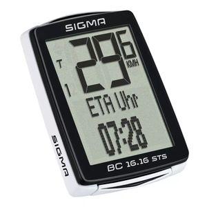 Sigma Fahrradcomputer BC 16.16 STS CAD Schwarz 1618