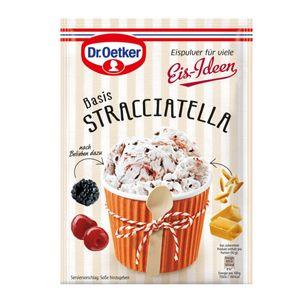Dr. Oetker Eispulver für viele Eis Ideen Basis Stracciatella 116g