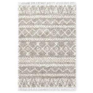 Hochflorteppich Teppich Berberteppich Hochflor PP Sandfarben und Beige 80 × 150 cm