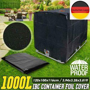 Melario P1 IBC Container Abdeckung UV-Schutz Folienhaube Hülle Haube Regenwassertank