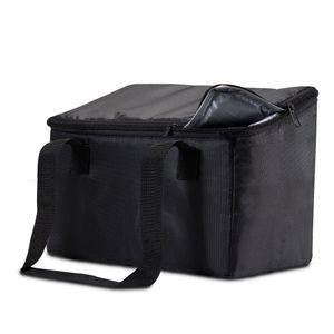 achilles Vario-Box  Kofferraumbox Faltbarer Auto-Organizer größenverstellbare Kofferraum-Tasche-Korb mit Klettbefestigung am Boden
