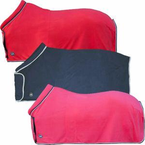 HKM Fleecedecke mit Kragen -Lissabon-, Farbe:3900 pink, Größe:155