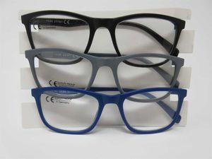 3 Lesebrille im Set +2,0 DAMEN & HERREN große Sichtfläche Lesehilfe Fertigbrille