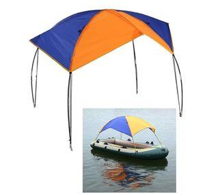 Schlauchboot Sonnenschirm Inflatable Boat Segeln Markisendach Markise Obere Abdeckung Angelzelt.