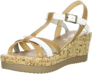 Vista Damen Sandaletten beige, Größe:39, Farbe:Beige