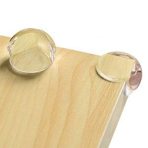 Eckenschutz und Kantenschutz für Kindersicherung, für Tisch und Möbel Ecken, Stoßschutz für Baby und Kinder, für Baby Schutz, Transparent (12 Stück)
