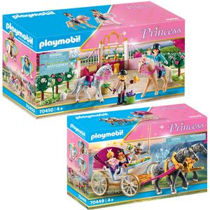 PLAYMOBIL 70449 70450 Princess 2er Set Romantische