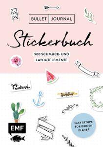 Bullet Journal - Stickerbuch: Band 1: 900 Schmuck- und Layoutelemente