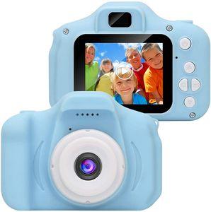 x2 Kinderkamera HD Kinder Student Digitalkamera Urlaub Geburtstag Kamera Geschenk Cartoon Geschenkmaschine