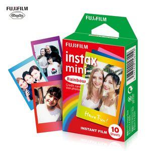 Fujifilm Instax Mini 10 Blätter Bunte Regenbogen Film Foto Papier Schnappschuss Album Instant Print für Fujifilm Instax Mini 7s / 8/25/90/9