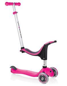 Scooter / Kinderroller / Dreirad / Laufrad Globber Evo 4in1 pink