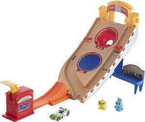 Hot Wheels Toy Story Buzz Lightyear Jahrmarkt -Rettungseinsatz