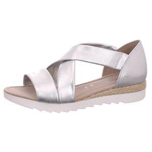 Gabor Comfort Sandale Silber Größe 6, Farbe: silber
