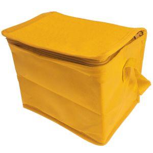 Mini Kühltasche Kühlbox Isoliertasche Thermotasche Reisetasche Camping Outdoor Isolierbox Picknicktasche faltbar klein - gelb