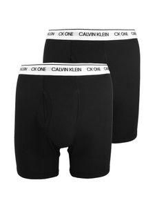 Calvin Klein Herren 2er Pack CK One Boxershorts, Schwarz XL