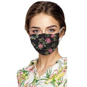 50 Stück Mundschutz Erwachsene Einweg 3-lagig Mund Nasenschutz, Einweg-Gesichtsmasken, Atmungsaktive mit Motiv Bunt