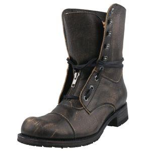 Sendra Herren Schnürstiefel 12334 Grau, Schuhgröße:EUR 45