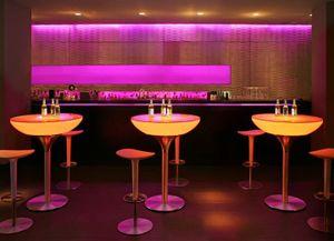 Moree Lounge Table LED Tisch Pro mit Akku 105cm