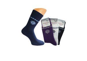 3 Paar Damen Thermo Socken, Gr. 35/38