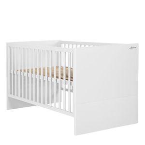 Miami Kombi-Kinderbett 70x140cm, 3x höhenverstellbar, Flachstäbe inkl 3 Schlupfprossen