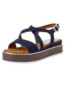 Marco Tozzi Damen Sandalette blau 2-2-28740-24 F-Weite Größe: 39 EU