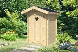 Toilettenhäuschen für den Garten Inodor