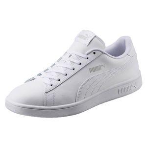 PUMA Smach Low Sneaker Weiss Schuhe, Größe:42