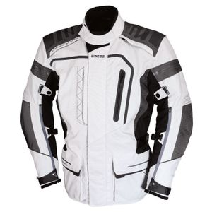 IXS Askalon Textiljacke Grösse: L, Farbe: Hellgrau/Dunkelgrau/Schwarz